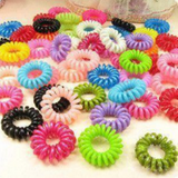 Multicolor Elastic Hair Strapping - 30pcs-Hair Holders-Great Deals and More
