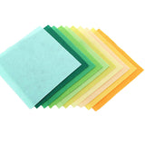 40pcs Non Woven Felt Fabric Polyester Cloth 15x15cm - Free Shipping Worldwide