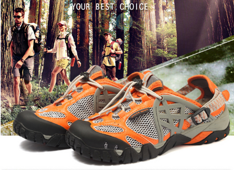 Men/Women Outdoor Sneakers Breathable Hiking Sandals - Great Deals and More