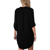 Long Sleeve Chiffon Blouses-Long Sleeve Chiffon Blouses-Great Deals and More