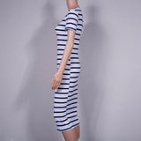 Plus Size Striped Dress