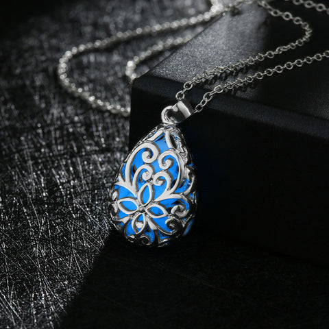 Glowing Pendant Necklace - Free Shipping Worldwide-Necklace-Great Deals and More