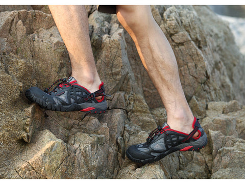 Men/Women Outdoor Sneakers Breathable Hiking Sandals-Hiking Sandals-Great Deals and More
