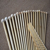 36Pcs/Set 18 Sizes Single Tip Round Point Bamboo Knitting Needles 2.0mm-10.0mm - Free Offer (JUST PAY SHIPPING & HANDLING)