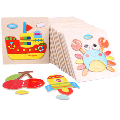 3D Wooden Puzzle - Great Deals and More
