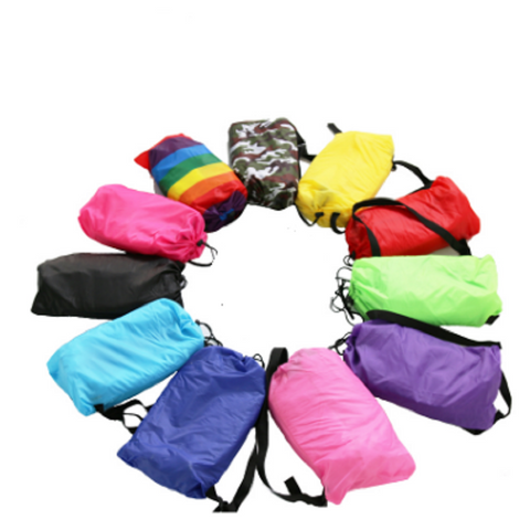 Outdoor Fast Folding Inflatable Sleeping Bag - Great Deals and More