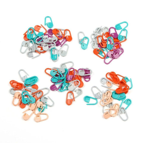 100Pcs Plastic Knitting Crochet Locking Stitch Markers Crochet Latch Knitting Tools - FREE OFFER (JUST PAY SHIPPING & HANDLING)-Great Deals and More