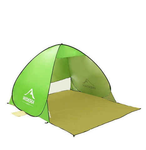 1-2 Person Quick Automatic Opening 90% UV-Protective Waterproof Camping/Garden/Fishing/Travel Tent  - Great Deals and More
