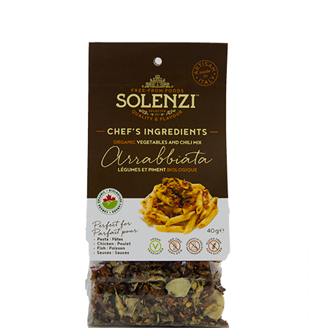 "Organic Sun-dried Vegetables & Chili Mix ""Arrabbiata"" 40g"