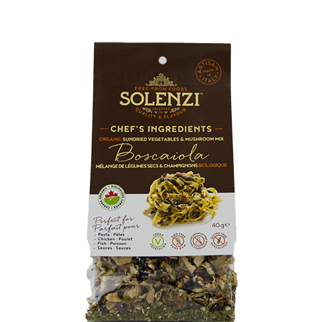 "Organic Sun-dried Vegetables & Porcini Mushroom Mix ""Boscaiola"" 40g"
