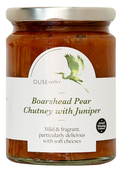 Boarshead Pear Chutney with Juniper 300g