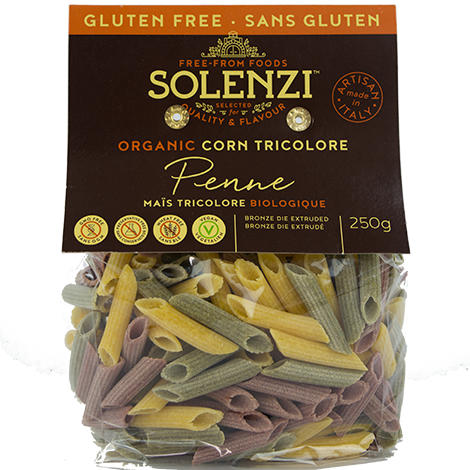 Organic Beetroot, Spinach & Corn Penne 250g