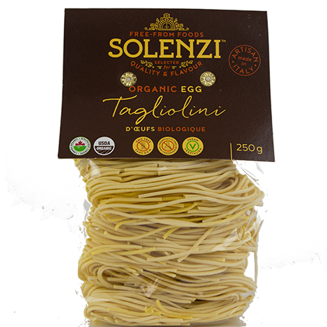 Organic Durum Wheat with Eggs Tagliolini 250g