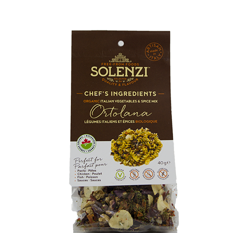 "Organic Italian Sun-dried Vegetables  & Spice Mix ""Ortolana"" 40g"
