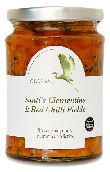 Santi's Clementine & Red Chilli Pickle 290g