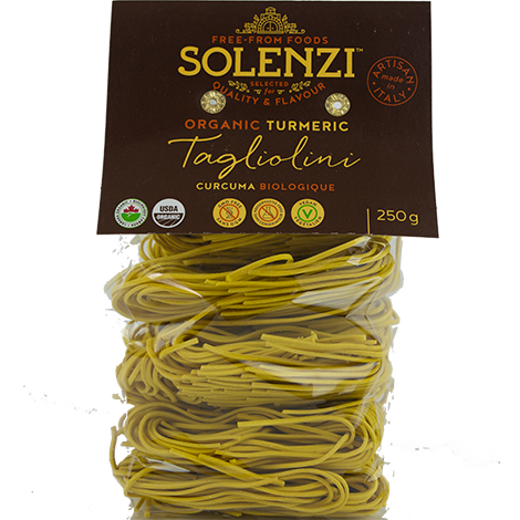 Organic Durum Wheat with Tumeric Tagliolini 250g