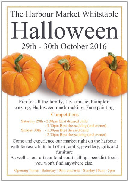 Halloween Weekend: Ellery Bow Pop-Up at Whitstable Harbour Market