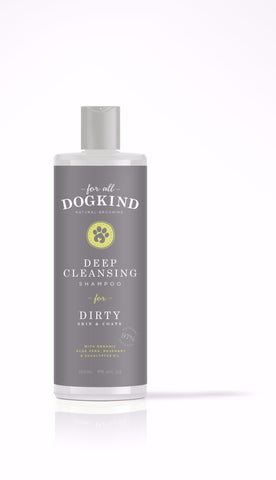 Deep Cleansing Shampoo for Dirty Skin & Coats (250ml)
