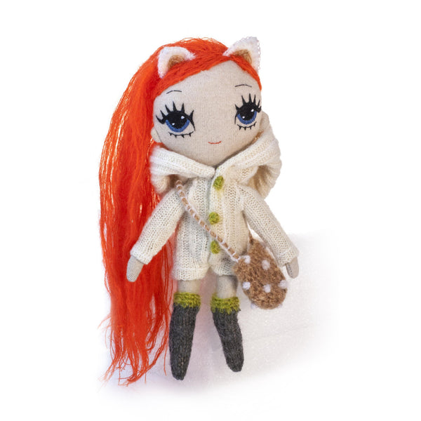 Foxy Jackie - Soft Small Doll
