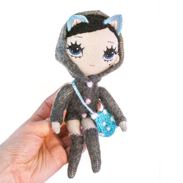 Wolfie - Soft Small Doll