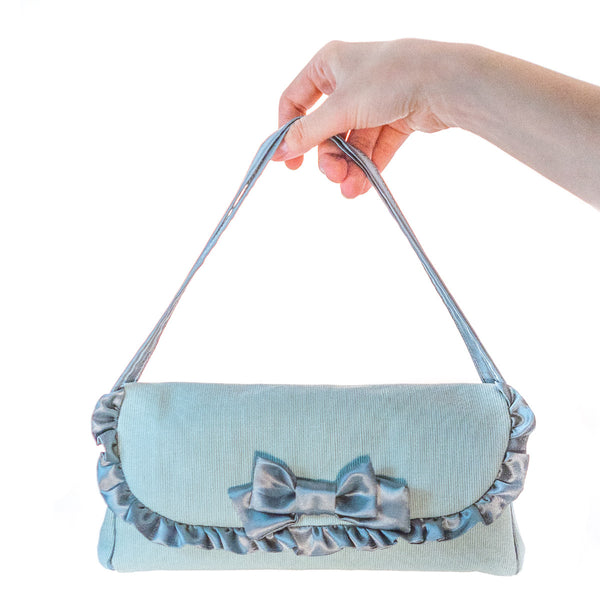 Blue Fabric Doll Carry bag