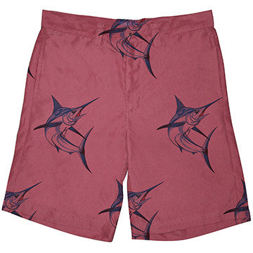 Resort Shorts  - Ocean Tested. Land Approved! Vintage Marlin