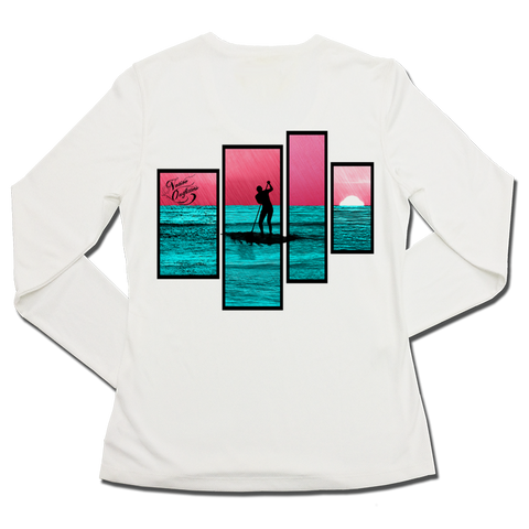 Ladies SPF50+ Sun Shirt - PaddleQ