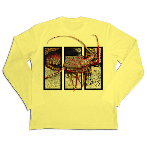 BEST Sun Shirt Men's LS SPF50+ Spiny Lobster
