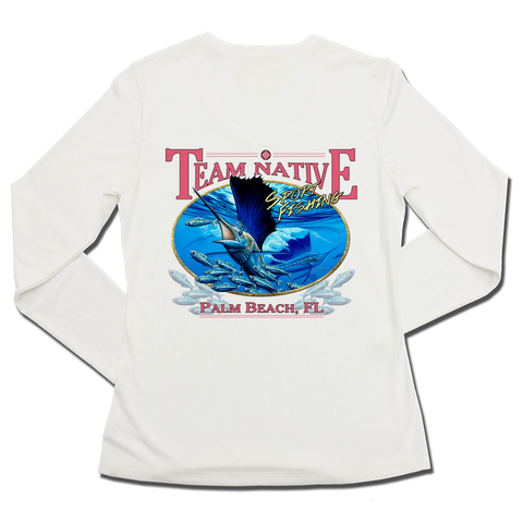Ladies SPF50+ Sun Shirt - Team Native 2
