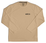 BEST Sun Shirt Men's LS SPF50+ USA RedTail