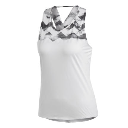 Women's Adizero Singlet | Crystal, White, Black