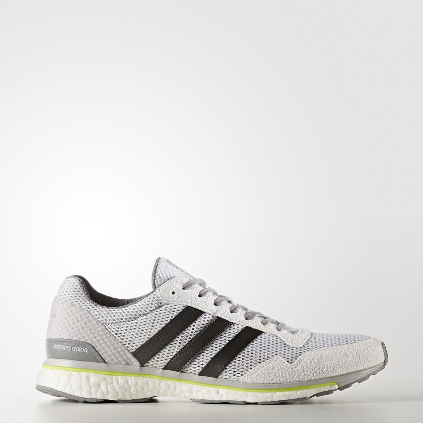 Men's Adizero Adios 3 | WHITE