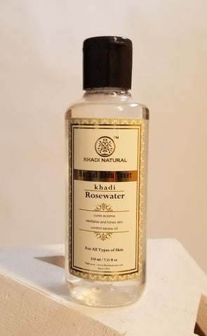 ALL NATURAL: KHADI ROSE WATER