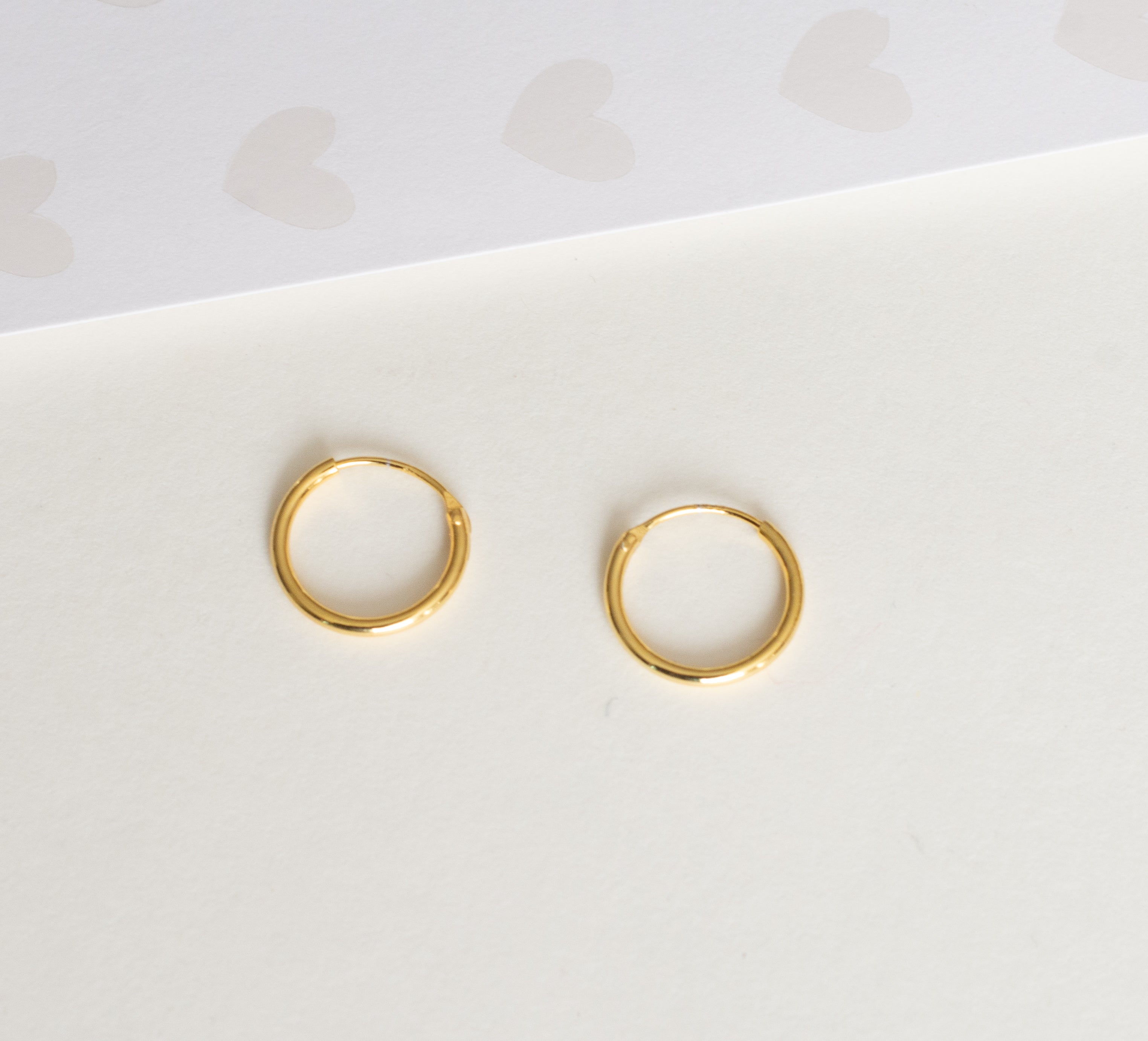 Small Infinity Hoops (13mm)
