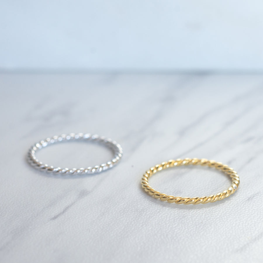 Spiral Stacking Ring