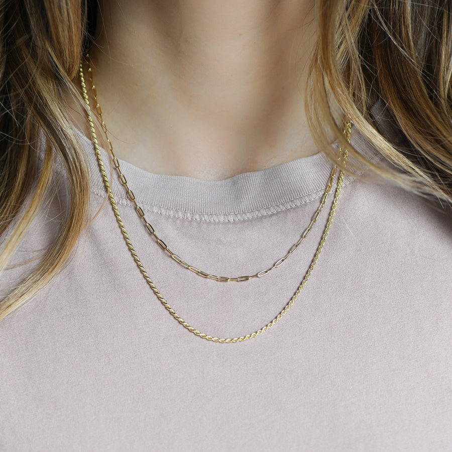 gold-paperclip-necklace-layered-with-rope-chain