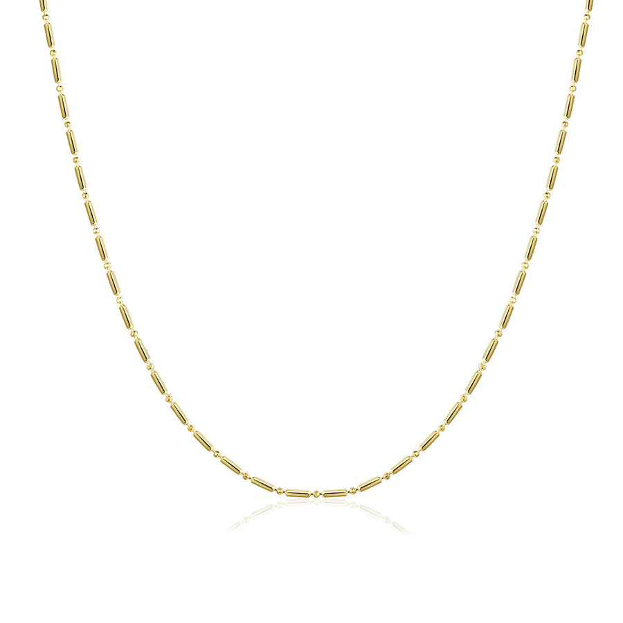 chain choker layering necklace