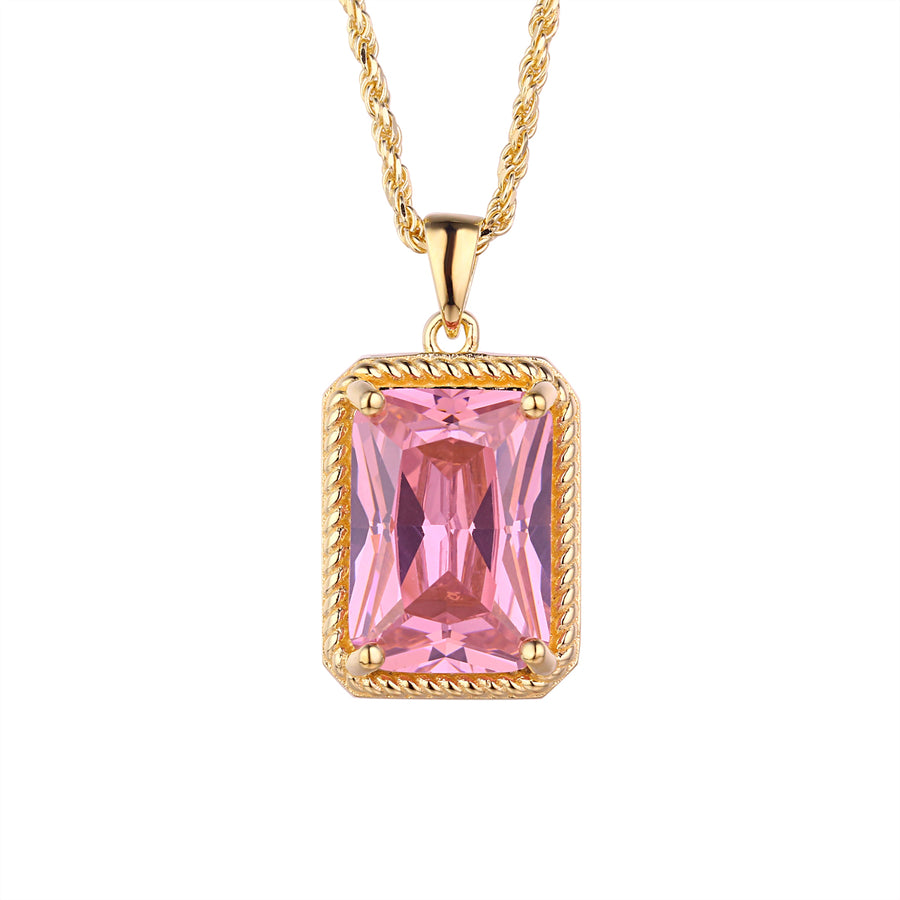 Pretty Luv Necklace - Princess Pink