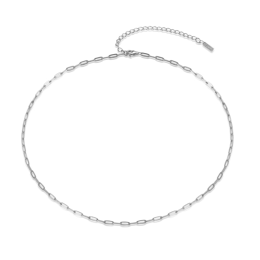 silver-paperclip-necklace