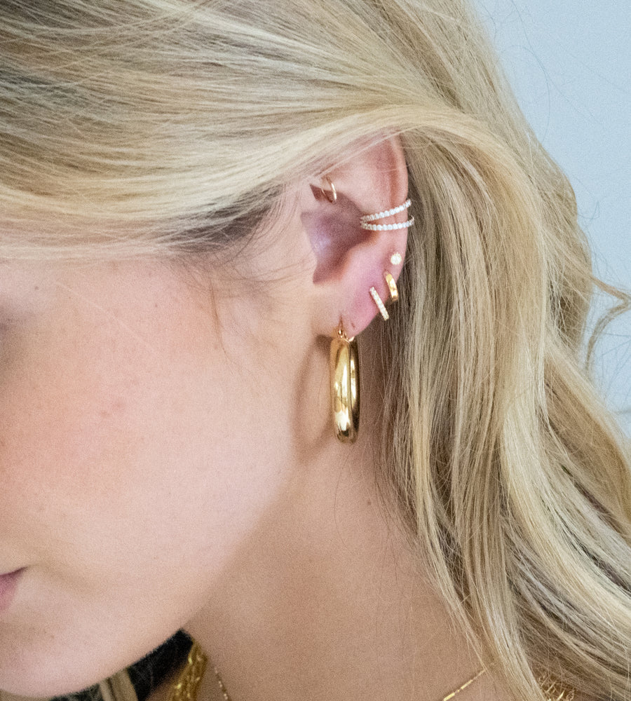 Marcella Double CZ Ear Cuff