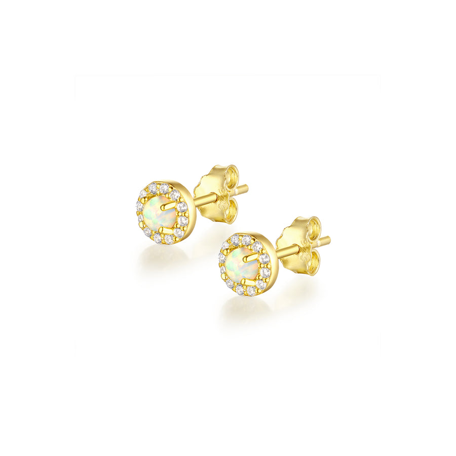 gold-opal-circle-halo-cz-stud-earrings
