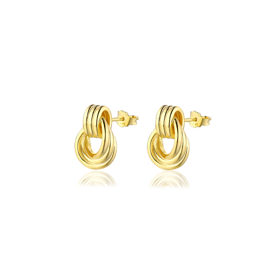 Charlie Knot Stud Earrings