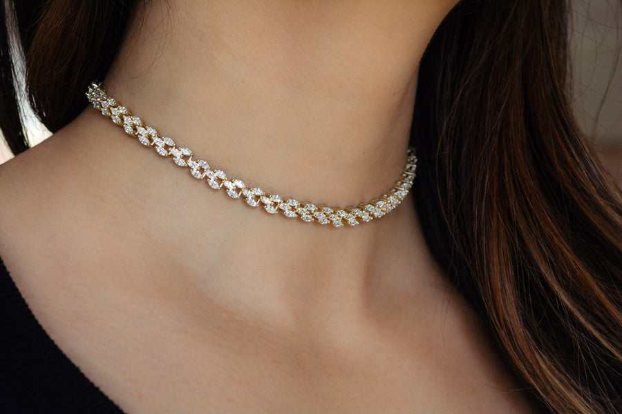 Marquis Shaped Choker
