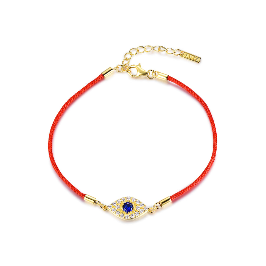 Sammi Red String Evil Eye Bracelet