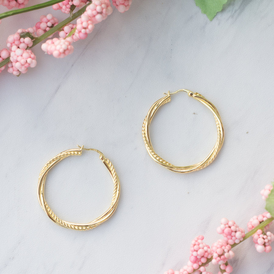 Ella Hoop Earrings