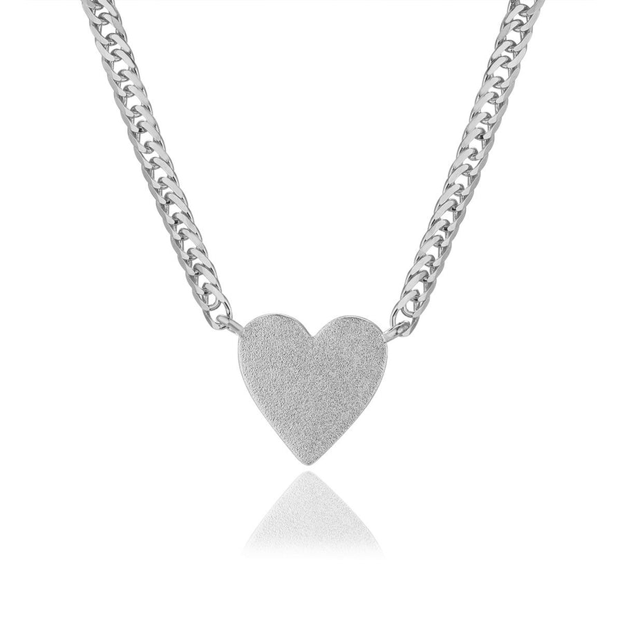 Plain Heart Necklace