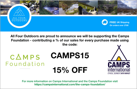 Supporting the Camps Foundation in 2018!