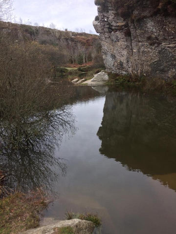 Haytor Quarry - Looking for gold fish