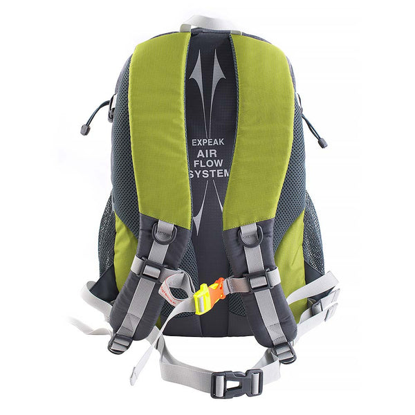 NatureHike 25L Lightweight Day Pack rear view in green