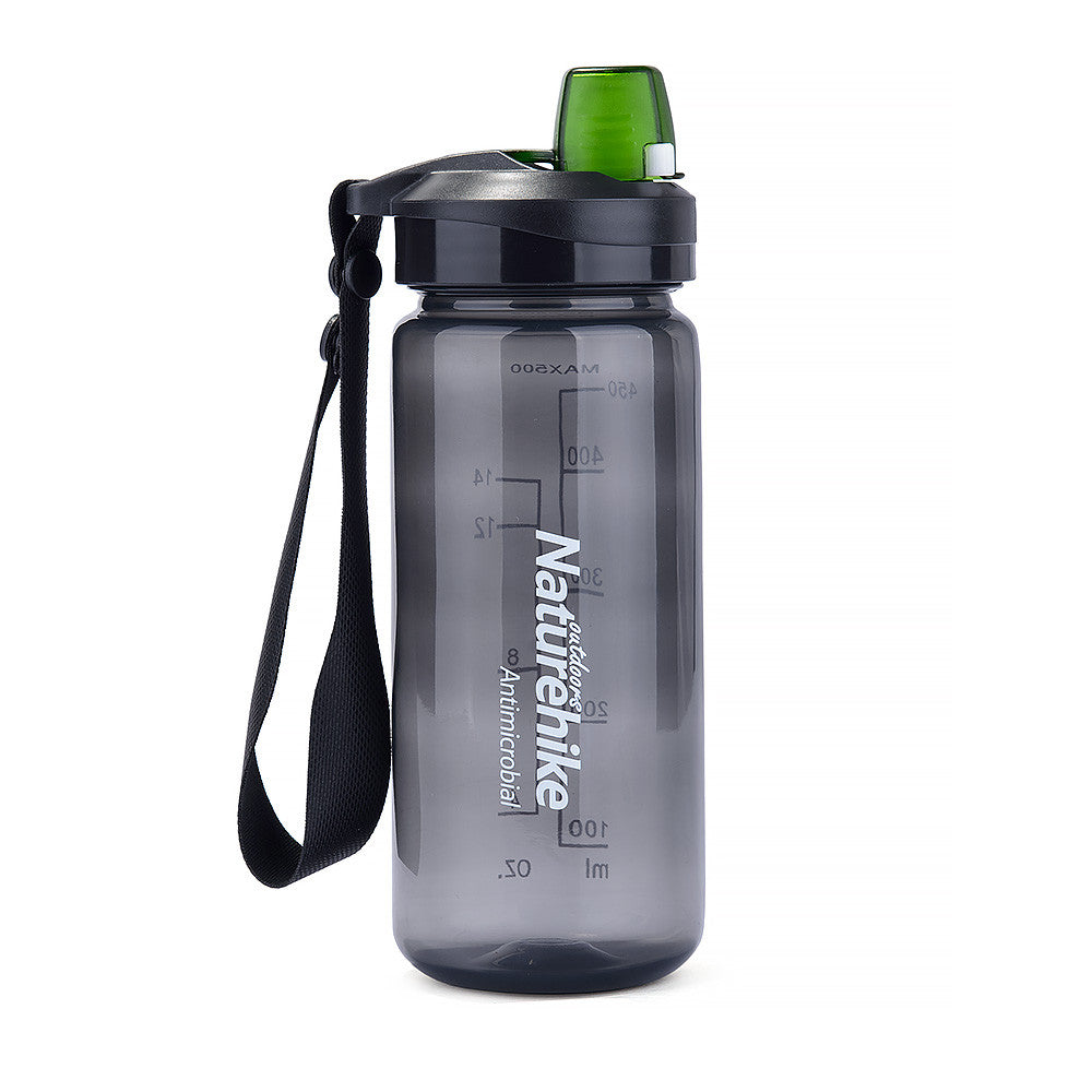 NatureHike 500ml Easy Open water bottle in black